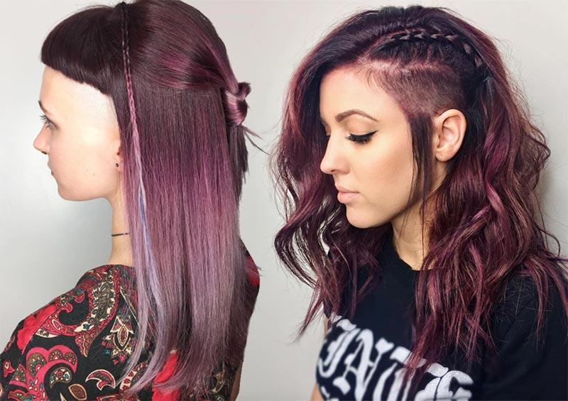 Tremendous 51 Long Undercut Hairstyles For Women In 2020 Diy Undercut Hair Schematic Wiring Diagrams Phreekkolirunnerswayorg
