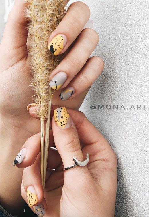 Cute Fall Nails Ideas: Fall Nail Designs to Inspire