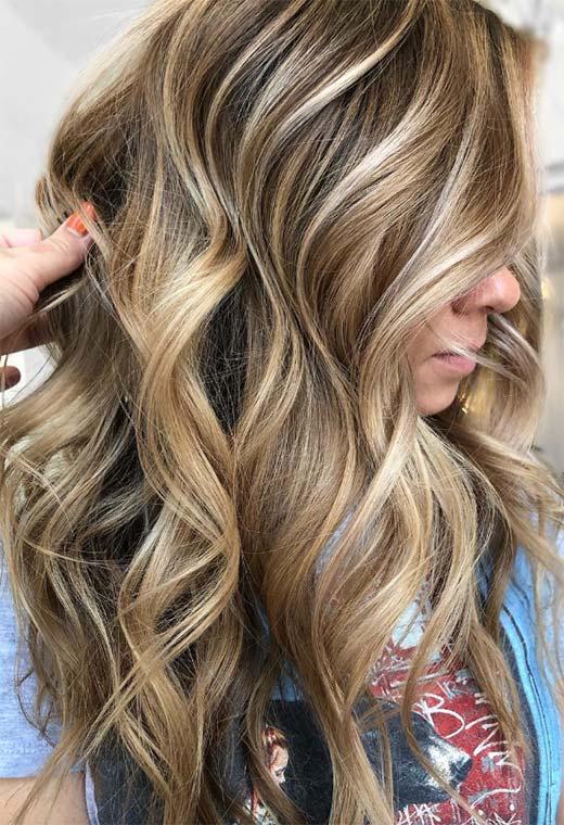 Dark Blonde Hair Color Shades
