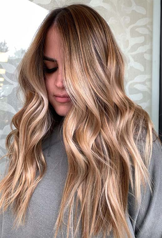 How to Color Hair Dark Blonde at Home