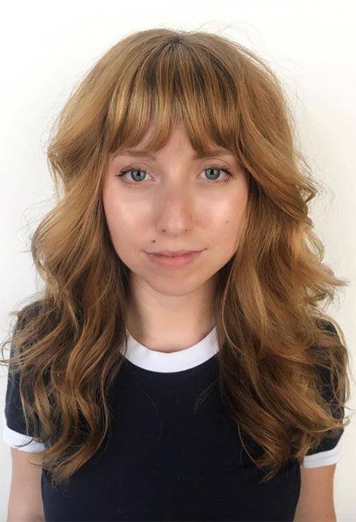 Medium & Long Shag Haircuts