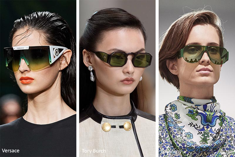 Spring/ Summer 2020 Sunglasses Trends: Sunglasses with Green Lenses