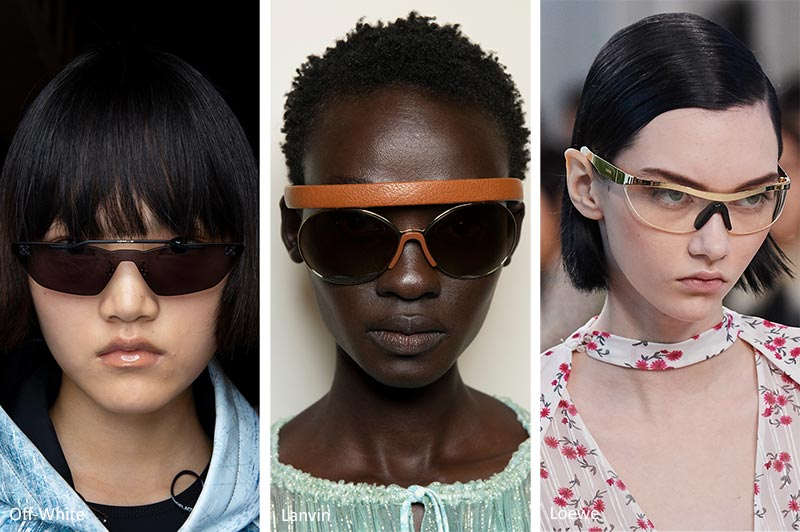 Spring/ Summer 2020 Sunglasses Trends: Sunglasses with a Top Rim Focus